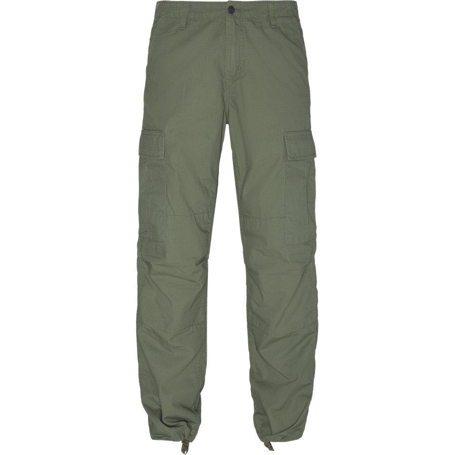REGULAR CARGO PANT-I015875 - Cargo Pants - Bukser - Regular - DOLLAR GREEN RINSED - 1